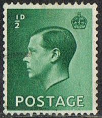 GB SG457 1936 Definitive ½d good/fine used